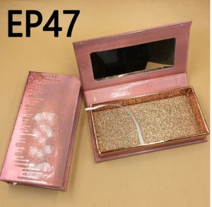 lash packaging with mirror