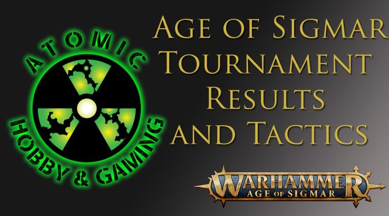 age of sigmar Tournament Results and Tactics
