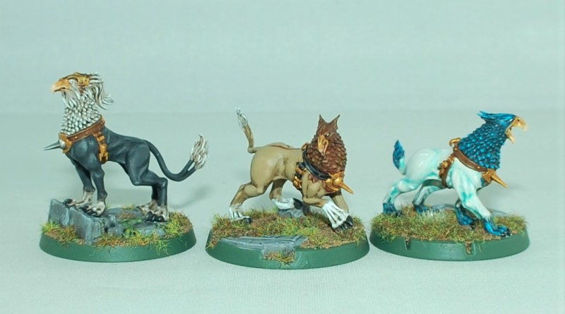 how to paint gryph hounds