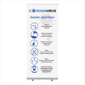 roll up Covid-19 – gestes barrieres masque conseille 03