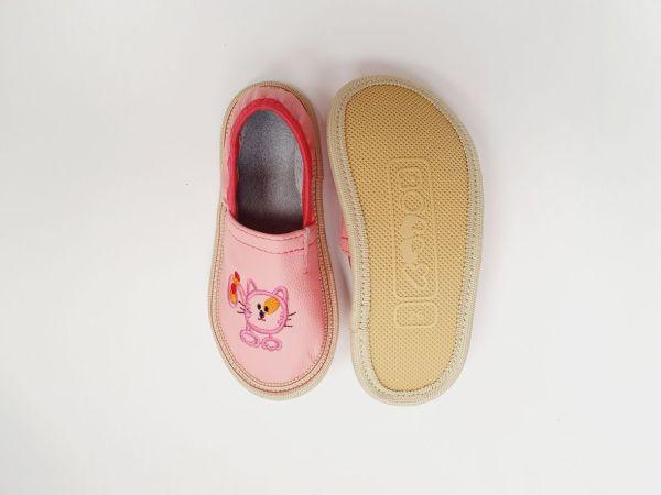 Rolly solski copati za vrtec toddler girl rosa nedrsec podplat za malcke za punce