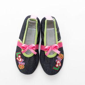 School slippers girls jeans love 2
