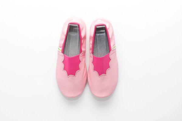 School slippers pink joy girls