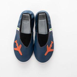 School slippers smile plane