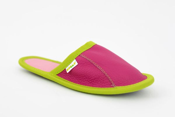 Rolly adult slippers home slippers cyklam from leather