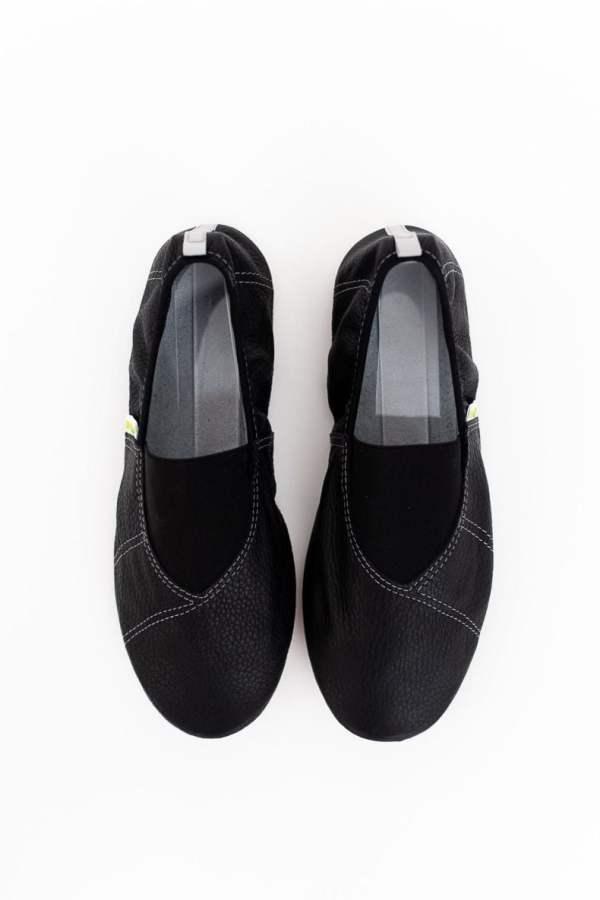 Rolly school slippers for kindergarten line grey for boys