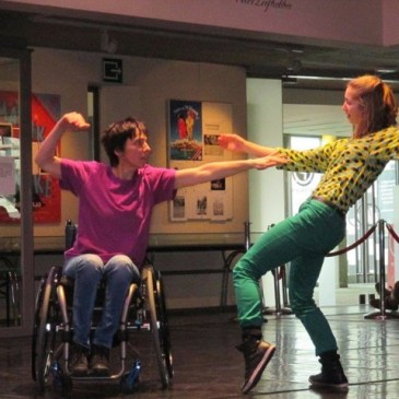 Dansen in een rolstoel
