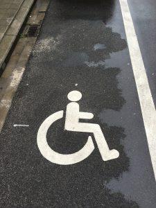 parkeerplaats beperking rolmodel