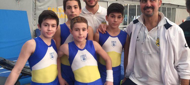 Gara gold ginnastica artistica maschile roma 70