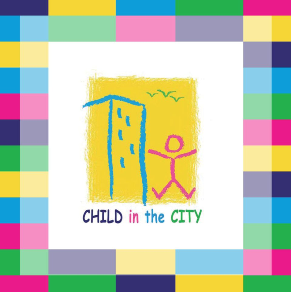 child in the city