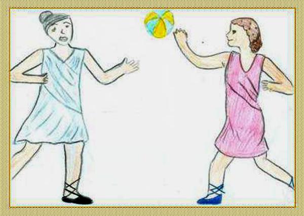 Giochi di palla a Caracalla