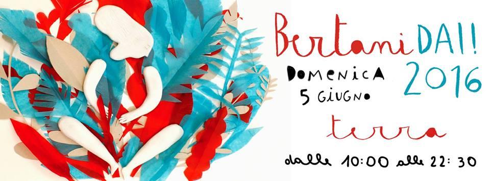 """BERTANI DAI """"XIII"""" - Domenica 5 Giugno a Trastevere"""
