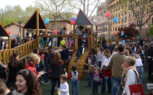 Aree gioco per bambini a Roma