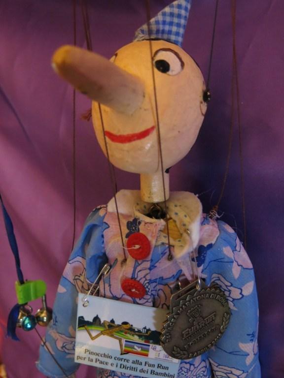 Corri insieme a Pinocchio per sostenere i Diritti dei Bambini in una Cultura di Pace