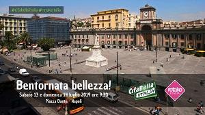 """Bentornata bellezza"" a Napoli"