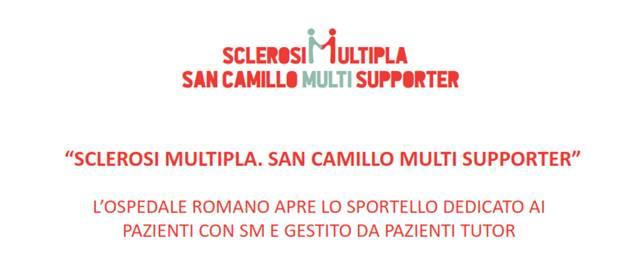 L'Ospedale San Camillo apre il primo sportello dedicato ai pazienti con Sclerosi Multipla e gestito da pazienti tutor