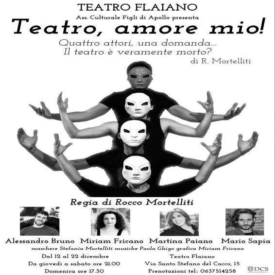 """Al Teatro Flaiano in scena """"Teatro amore mio!"""""""