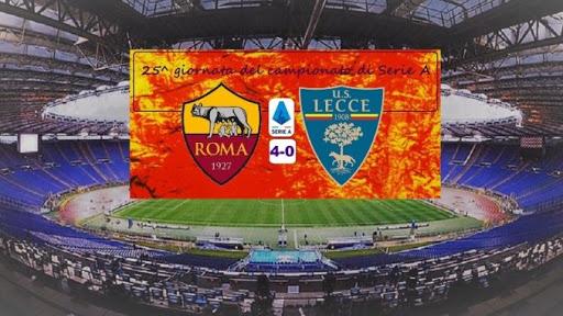 Roma Lecce 4 – 0
