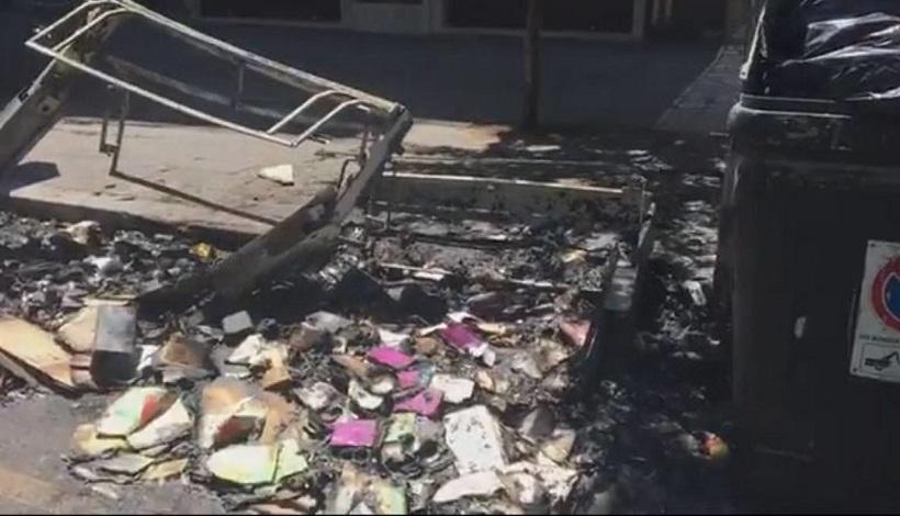 Roma, cassonetti bruciati: da lunedi sono 31 quelli distrutti
