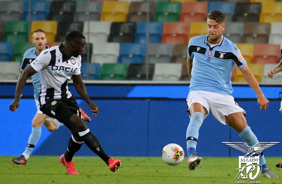 Udinese -Lazio 0-0 – Un pareggio della Lazio con (poche) luci e (molte) ombre.