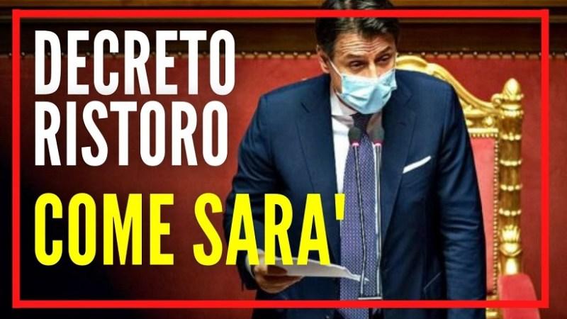 Decreto Ristori, i codici Ateco  in Gazzetta Ufficiale