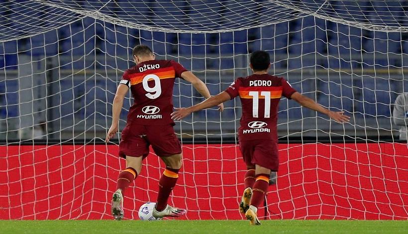 Roma-Benevento è cinqina e si sblocca Dzeko