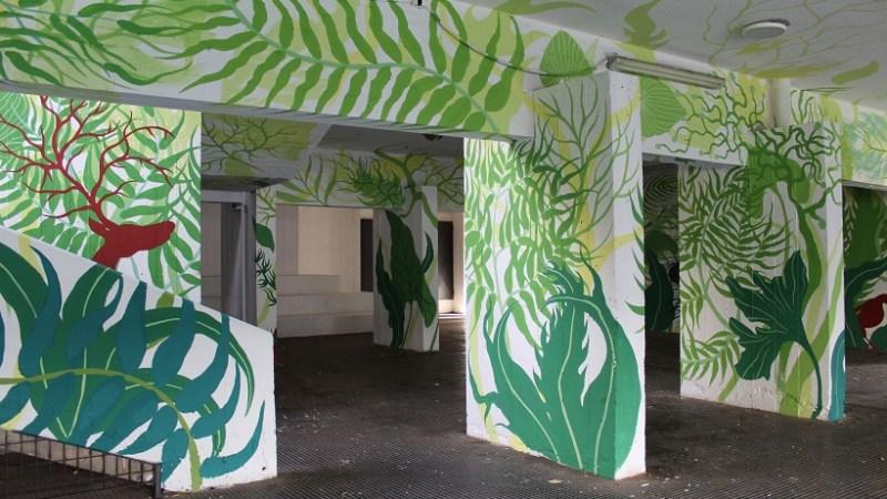 """L'artista romagnolo Gola Hundun con la sua opera partecipa al progetto """"Another World. Arte in città per immaginare il futuro""""."""