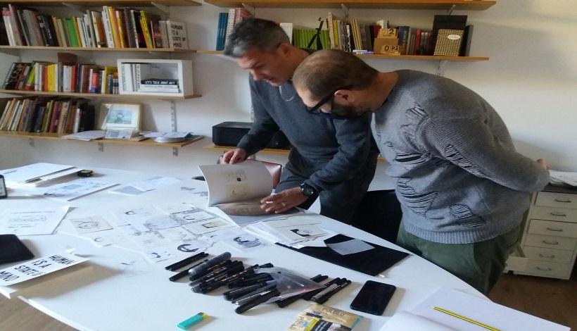 """Una video narrazione in digitale: """"Parole, immagini e musica nelle ricerche di Marco Raparelli e dj Baro""""  nell'ambito del progetto Scegli il Contemporaneo -Ti racconto Roma."""