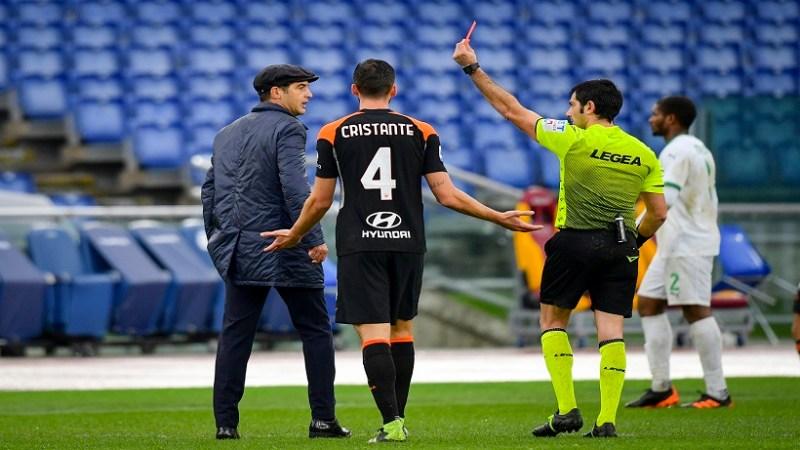 Roma-Sassuolo, gli errori arbitrali decidono il match