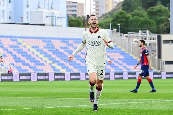 Crotone-Roma 1-3. La Roma vince in trasferta e si avvicina alle milanesi.