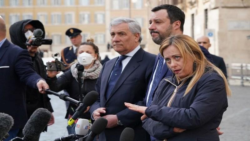 """Consultazioni: Centrodestra unito al Colle """" No al Conte ter"""""""