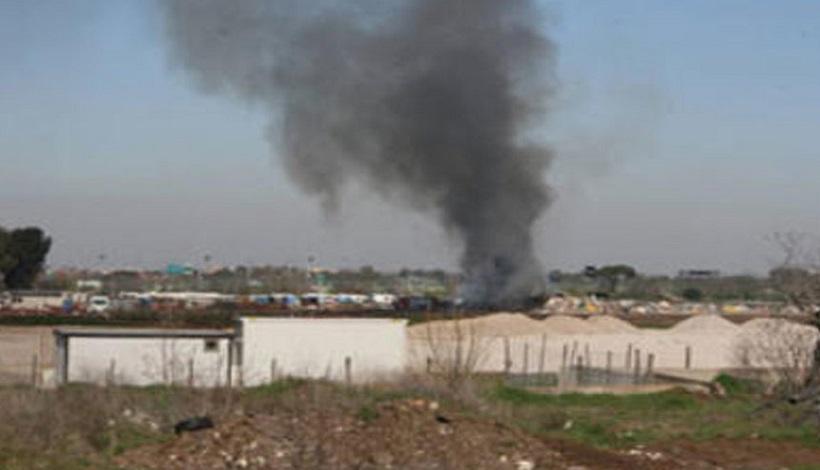 Roghi tossici: Campidoglio, installate nuove telecamere con sensori a infrarossi campo rom via Salviati
