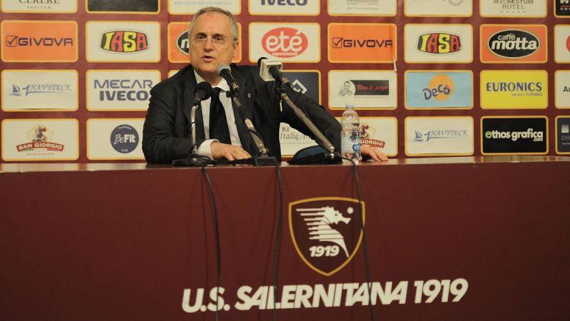 Calcio, Salernitana in A? Lotito deve  cederla