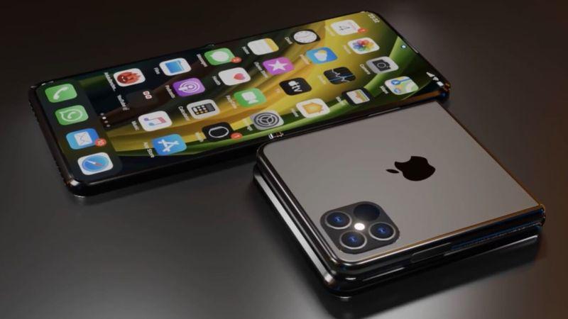 iPhone pieghevole in arrivo: display 8 pollici e apertura a conchiglia