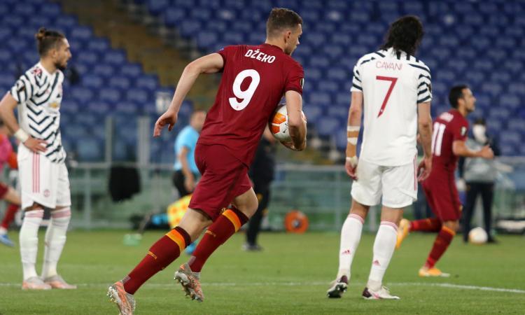 Roma 3-2 Manchester United: padroni di casa fuori dall'Europa League
