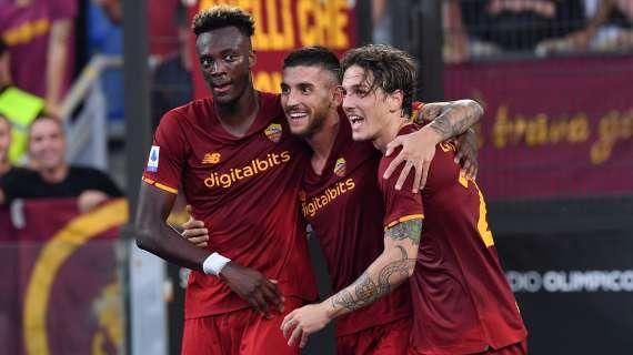 Calcio, la Roma dopo il derby ritrova la vittoria contro l'Empoli.