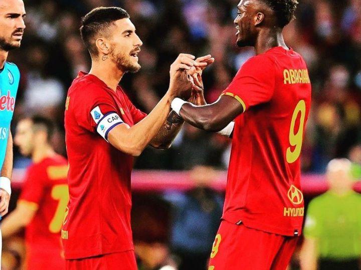 Roma-Napoli 0-0. La Roma ferma la striscia di vittorie del Napoli con un pareggio a reti inviolate.