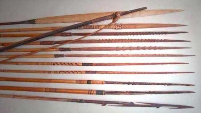 Tombak Tradisional Papua