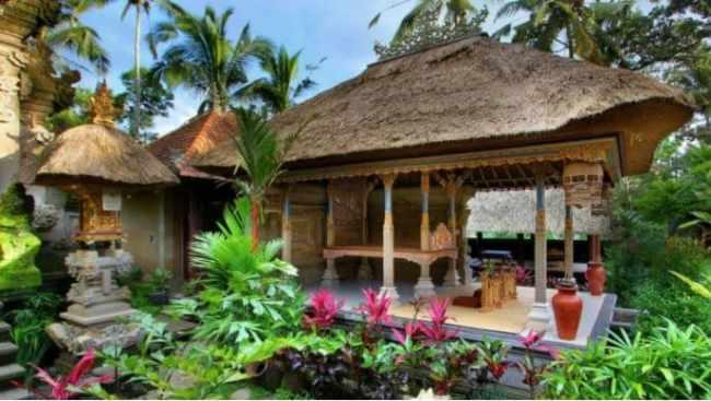 Material Bangunan Rumah Adat Bali