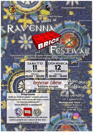 Locandina Evento Ravenna Brick Festival