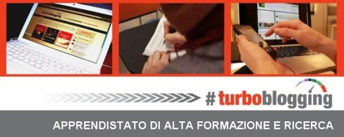 #Turboblogging, l'Apprendistato di Alta Formazione e Ricerca in un post - di Rosetta Savelli