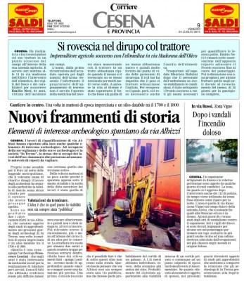 24_07_2015 Quotidiano 2407 cronaca 9 Cesena Forli-Cesena