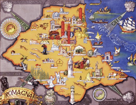 Romagna Mappa