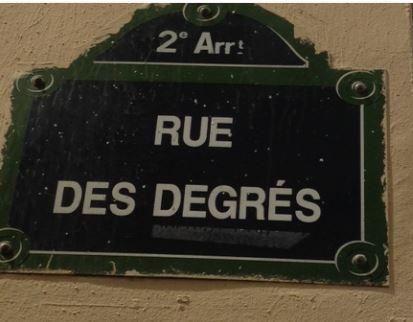 Rue des Degrés Paris