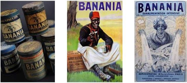 Banania  Boites vintage Affiches
