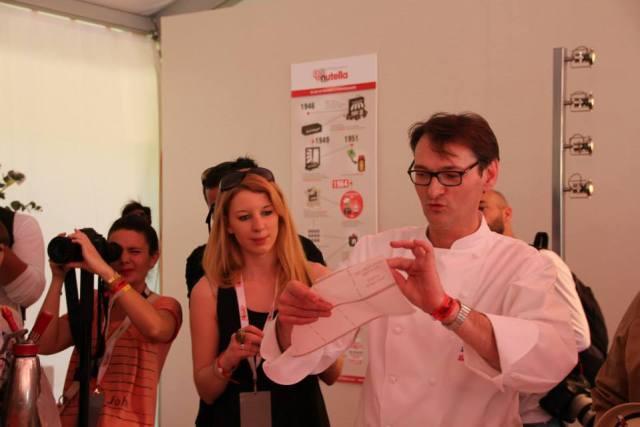 Dégustation Nutella avec Laurent Jeannin - Chef Pâtissier au Bristol Paris