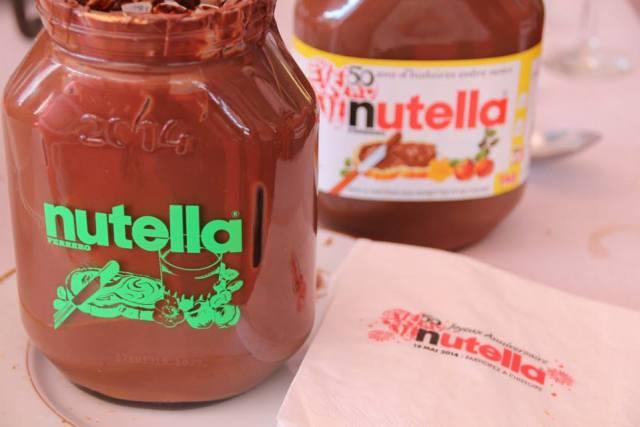 Petit déjeuner Nutella