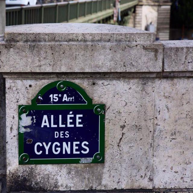 Allée des Cygnes Paris