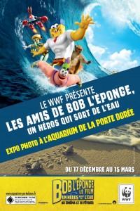 BOB L EPONGE UN HEROS QUI SORT DE L EAU EXPOSITION AQUARIUM PORTE DOREE PARIS