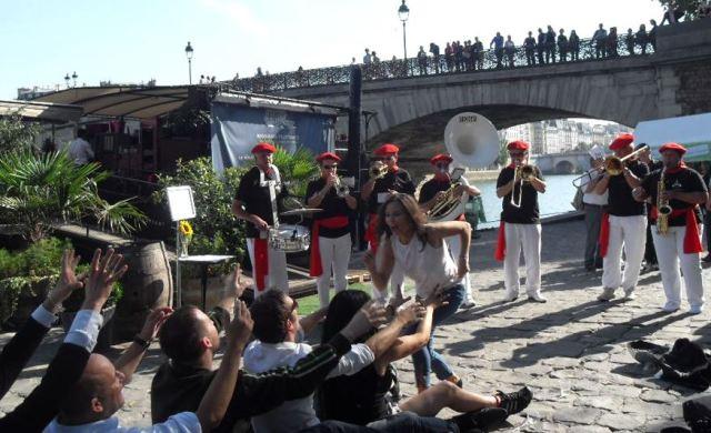 Sud-Ouest à Paris - Joueurs de Bandas